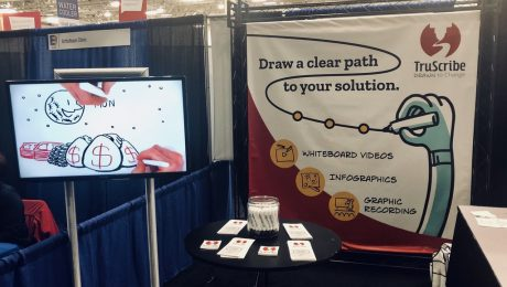TruScribe Booth at a Recent Event